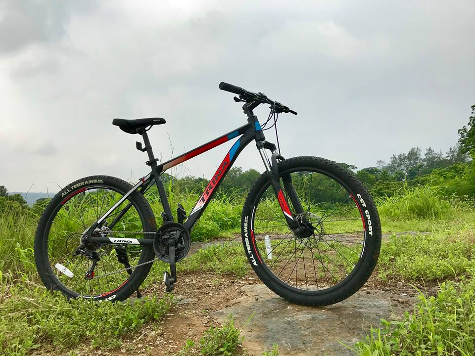 First Look At The New Trinx M100 Mountain Bike The Cyclelogist